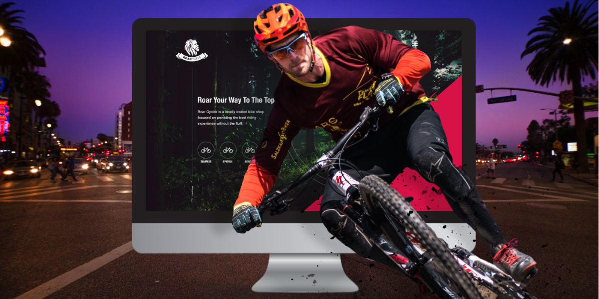 Roar bikes website
